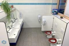 Toilette-Krippe
