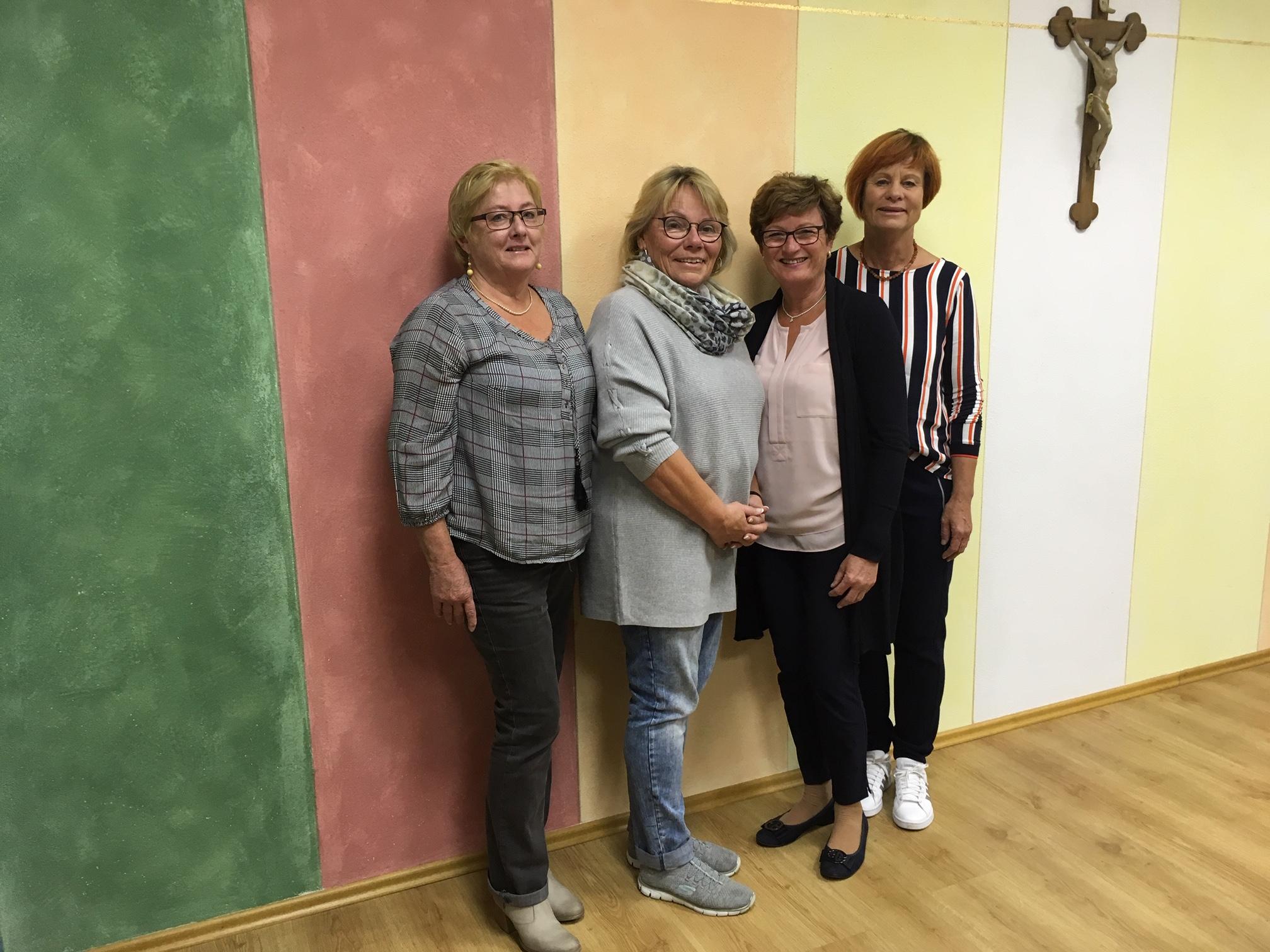 Frauenbund St. Barbara - Vorstandteam