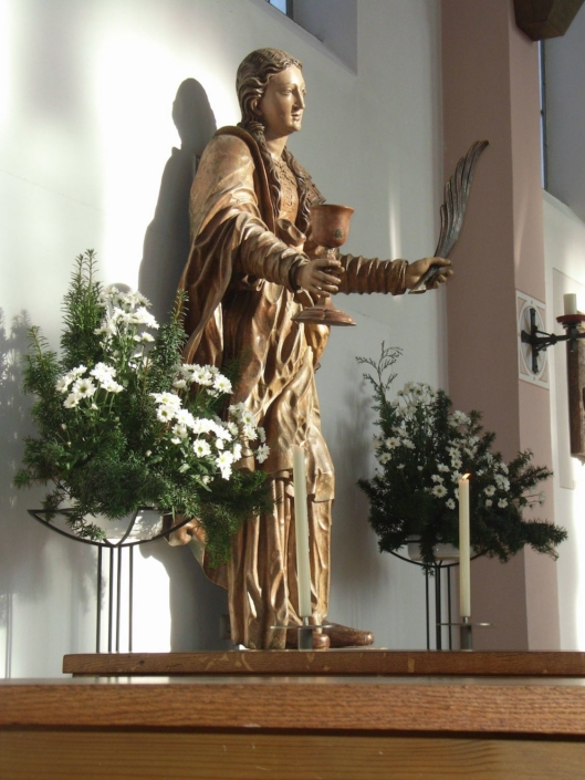 St. Barbara Figur