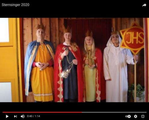YouTube Video Sternsinger 2021